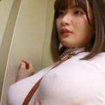 【筧ジュン】神乳Jカップのエッチな膨らみに透けブラ乳首がたまらない