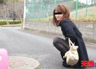 【素人無修正】飛びっこ散歩 〜歩けないくらい暴れてる〜